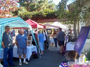 Last year--great turn-out for Artist Friends of Fire Mountain